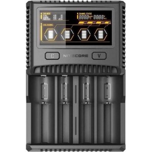 NITECORE SC4. Обзор зарядного устройства для аккумуляторов типа D и всех остальных типоразмеров