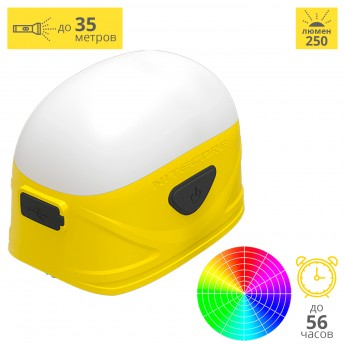 Фонарь NITECORE LA30 YELLOW MAGNETIC HIGH CRI LED 17444