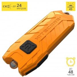 Фонарь NITECORE TUBE 2017 ORANGE NICHIA 16447